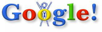 Google Logo - Burning Man Festival