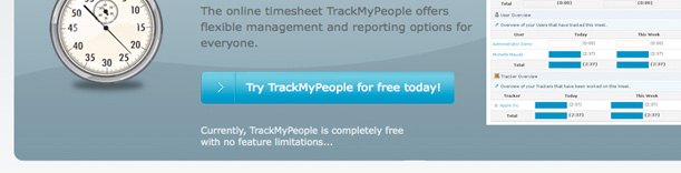 TrackMyPeople Call to Action